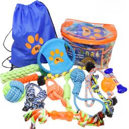 Dog Toys - 13 Puppy Dog Rope Toys - Chew Toy for Puppy Small and Medium Dogs