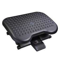 Yescom Portable Ergonomic Foot Rest Massage Adjustable Angle Height Under Desk Office
