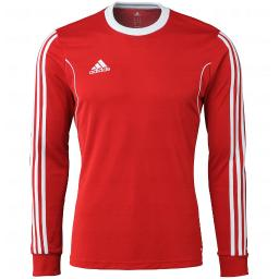 0697e40b9 Adidas Boys Climalite Squadra 13 Long Sleeve Jersey Red Size Youth Large