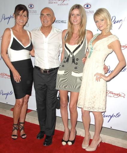 Robert Shapiro, Nicky Hilton, Paris Hilton At Arrivals For The Brent Shapiro Foundation For Alcohol And Drug Awareness Sober Day Dinner And.