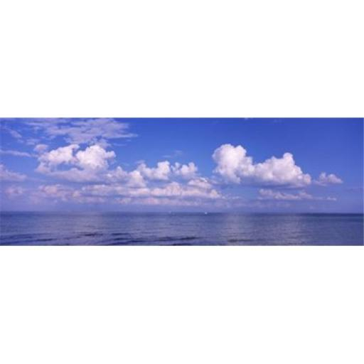 Panoramic Images PPI111960L Clouds over the sea Tampa Bay Gulf Of Mexico Anna Maria Island Manatee County Florida USA Poster Print by Panoramic