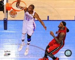 Kevin Durant Game 1 of the 2012 NBA Finals Action Sports Photo PFSAAOY17501