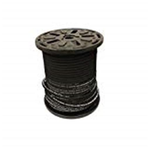 Hydrauli-Flex JR2-04-100 0.25 in. 2-Wire Hydraulic Hose, 5000 psi 100 ft. High Tensile Steel Braid