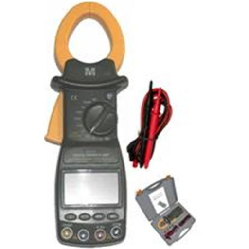 Morris Products 57270 Cat Iii Trms Autoranging Digital Power Clamp Meter