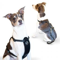 K&H Pet Products 7832 Black K&H Pet Products Travel Safety Pet Harness Medium Black