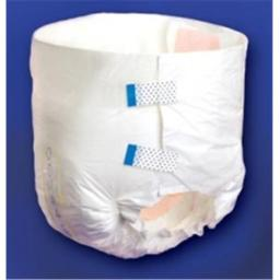 Principle Business Enterprises 2186 45 in. to 58 in. Tranquility All-Through-The-Night Disposable Briefs