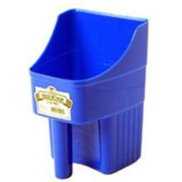 Little Giant 150415 Feed Scoop Blue, Enclosed 3 Quart, Blue