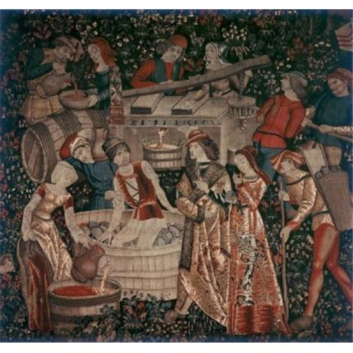 Posterazzi SAL9005265 Making Wine Tapestry & Textiles Poster Print - 18 x 24 in.