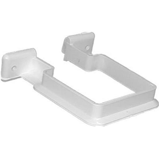 Genova Products RW202 Vinyl Downspout Bracket, White