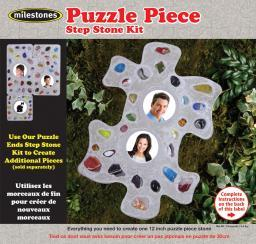 Mosaic Stepping Stone Kit Puzzle Piece