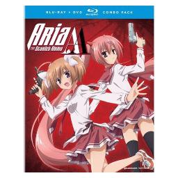 Aria the scarlett ammo aa-complete series (blu-ray/dvd combo/4 disc) BRFN09123