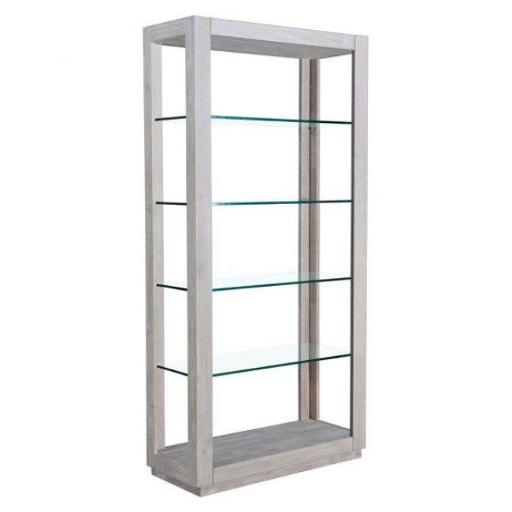 Zuo Modern 100750 Beaumont Tall 6 Level Shelf, Sun Drenched Acacia