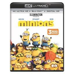 Minions (blu-ray/4kuhd/ultraviolet/digital hd) (2discs) BR61189113