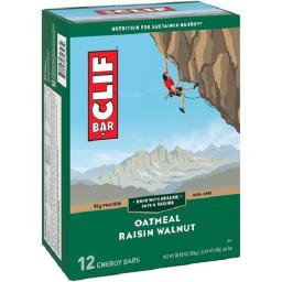 Clif Energy Bars Oatmeal Raisin Walnut 12 Pack