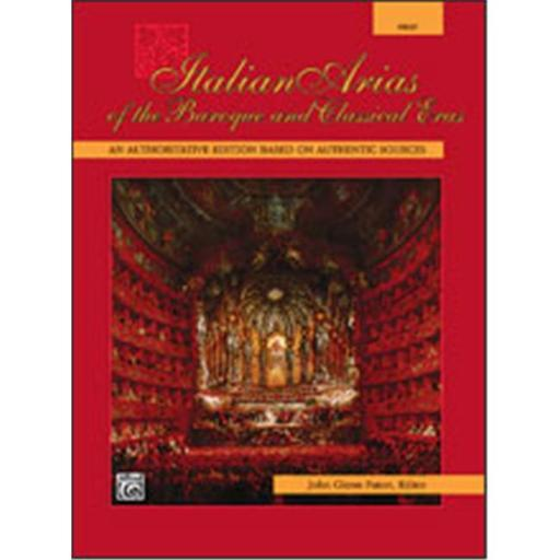 Alfred 00-4976 Italian Arias of the Baroque and Classical Eras - Music Book