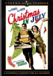 Christmas in july (dvd)