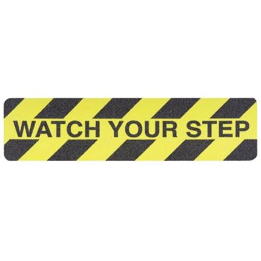 Jessup 397-3360-6X24-WATCH Safety Track 6 in. X24 in. Watch Your Setup Anti Skid ISJWMQXEWDFSMIS8
