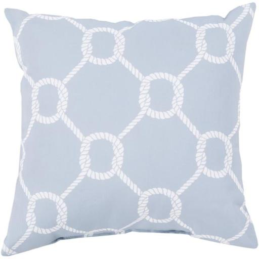 Surya RG148-2626 Rain 26 x 26 x 5 in. Throw Pillow, Grey - Large