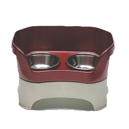 Neater Pet Brands - Neater Feeder Large Dog- Cranberry Large Dog - 100-230-RB P4QWTT39CFW9LPDG