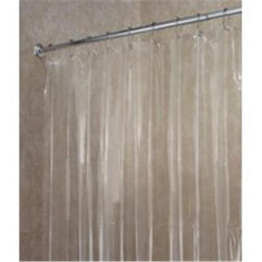 Inter-Design 14551 Shower Curtain-Liner Clear Vinyl