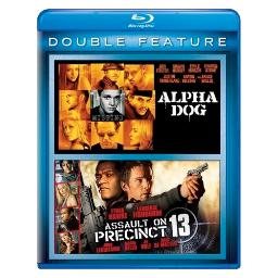 Alpha dog/assault on precinct 13 (blu ray/double feature) BR61117515
