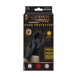 Copper Fit Guardwell Hand Protection Anti-microbial Gloves 1 pair - Case Of: 1;