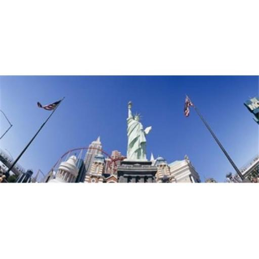 Panoramic Images PPI108270L Low angle view of a statue Replica Statue Of Liberty Las Vegas Clark County Nevada USA Poster Print by Panoramic Imag