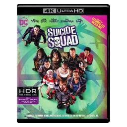 Suicide squad (blu-ray/4k-uhd-mastered/2016/2 disc) BR620828