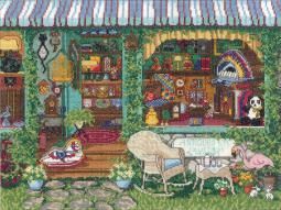 """Antiques Counted Cross Stitch Kit 14""""X11"""" 14 Count 32-0101"""