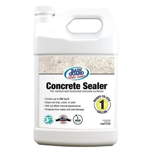 Rainguard International 230213 1 gal Ready to Use Premium Grade Concrete Sealer, Clear