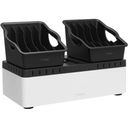 Belkin components b2b160 store and charge go with portable trays (usb compatible)