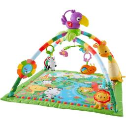 Fisher-Price DFP08 Rainforest&#0153 Music & Lights Deluxe Gym