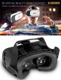 BEYOND CELL 3D VIRTUAL REALITY HEADSET GLASSES FOR iPHONE ANDROID GALAXY PHONE