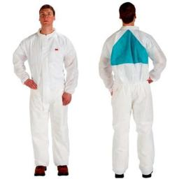 3M OH & ESD 142-4520-BLK-M Disposable Protective Coverall Safety Work Wear - Black, Medium - Pack of 25