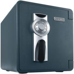 First Alert 2087F-Bd .94 Cubic-Ft Waterproof Fire Safe With Combination Lock & Ready-Seal Bolt Down