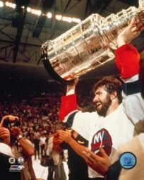 Clark Gillies with the Stanley Cup Photo Print PFSAAJA10601