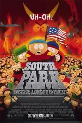 South Park Bigger Longer and Uncut Movie Poster (11 x 17) MOV190769