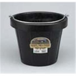 Miller Rubber Industrial Pail Black 12 Quart - DF12