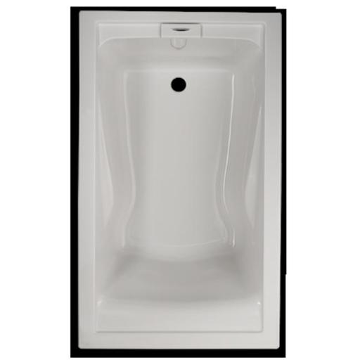 American Standard 2771V002.020 Evolution 5 ft. x 36 in. Deep Soak Bath Tub - White