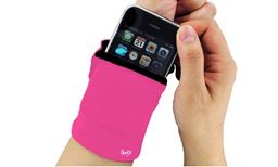 Z-Comfort  Multi-Pocket Wrist Wallet Useful For Trips To The Gym Runs Or Everyday Errands Color: Pink 743161701415