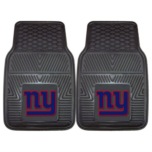 FANMATS NFL New York Giants Vinyl Heavy Duty Car Mat