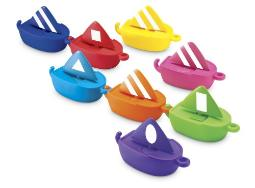 Learning Resources Sail Away Shapes, Set of 8