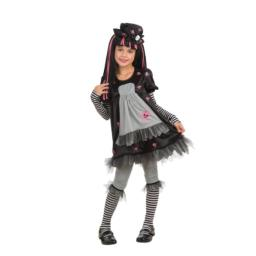 Rubie's Drama Queens Child Goth Doll - Ista Costume - Large (Ages 8 to 10)