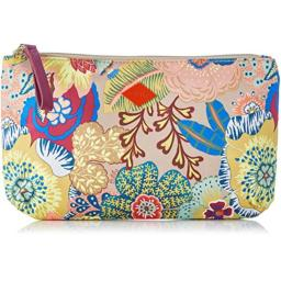 Oilily Women's Oilily Flat Pouch Cosmetic bag Multicolored (Nougat 832), Size: Dimensions (W x H x D): 26 x 15 x 3 cm