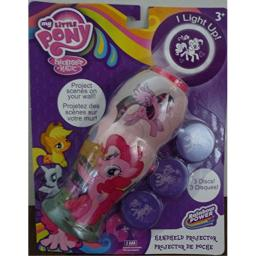 My Little Pony Pinkie Pie Handheld Projector Flashlight with 3 Disk