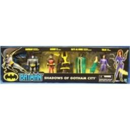 Batman SHADOWS OF GOTHAM CITY 4 Figure Set Robin Talia Ra's Al Ghul NEW SEALED