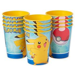 American Greetings Pokemon Party Supplies, Plastic Party Cups (12-Count) - 5951845