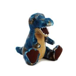 Aurora World T-Rex Plush Dinosaur Plush, Blue, Small