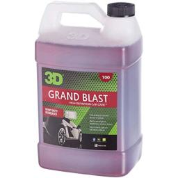 3D Grand Blast Engine Degreaser - 1 Gallon   Heavy Duty Industrial Cleaner & Degreaser   Removes Grease & Oil   Non Toxic & Biodegradable   Made in USA   All Natural   No Harmful Chemicals