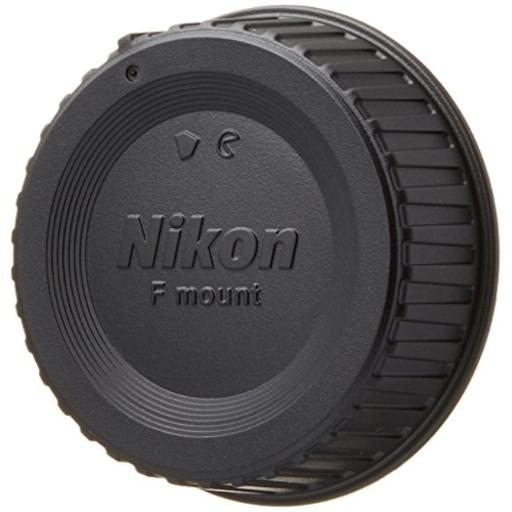 Nikon LF-4 Rear Lens Cap Compatible with Nikon F mount lenses.